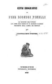 Cenni biografici di Pier Dionigi Pinelli ...