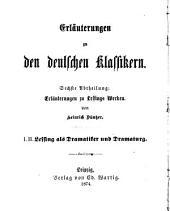 Erläuterungen zu den deutschen Klassikern: 12-14. b bd. Oden. 2. aufl