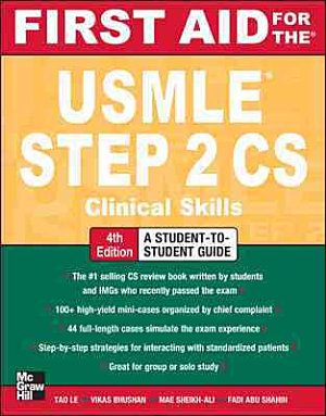 First Aid for the USMLE Step 2 CS  Fourth Edition PDF