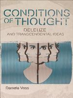 Conditions of Thought  Deleuze and Transcendental Ideas PDF