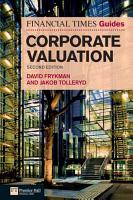 The Financial Times Guide to Corporate Valuation PDF
