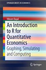 An Introduction to R for Quantitative Economics PDF
