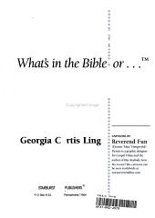 What s in the Bible for Women PDF