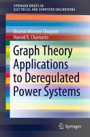 Graph Theory Applications to Deregulated Power Systems PDF