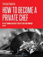 The Best Book On How To Become A Private Chef PDF