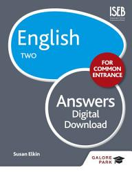 English for Common Entrance Two Answers PDF