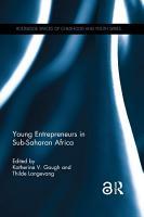 Young Entrepreneurs in Sub Saharan Africa PDF