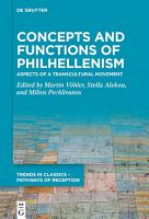 Concepts and Functions of Philhellenism PDF