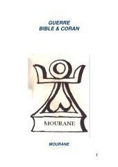 Guerre Bible & Coran