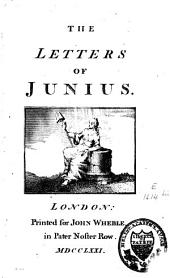 Letters of Junius: Volume 1