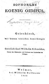 Sophokles Tragoedien: Bände 5-6