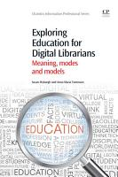 Exploring Education for Digital Librarians PDF
