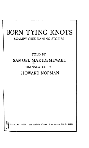 Born Tying Knots