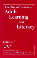 The Annual Review of Adult Learning and Literacy