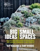 RHS Big Ideas  Small Spaces PDF