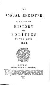 The Annual Register: Or a View of the History, Politics and Literature, for the Year ..., Volume 49
