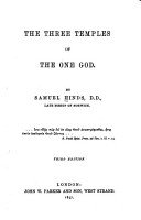 The Three Temples of the One God PDF