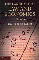 The Language of Law and Economics PDF