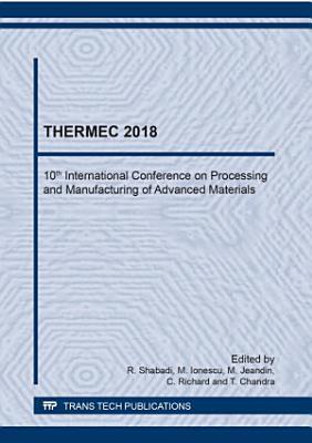 THERMEC 2018 PDF