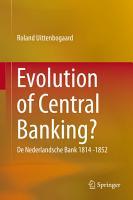 Evolution of Central Banking  PDF