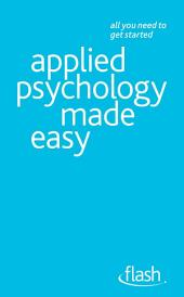 Applied Psychology Made Easy: Flash