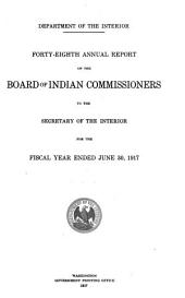 Annual Report of the Board of Indian Commissioners: Volume 48