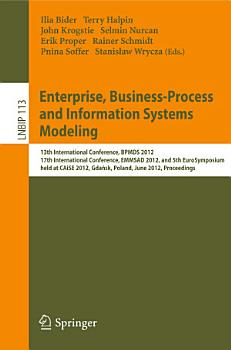 Enterprise  Business Process and Information Systems Modeling PDF