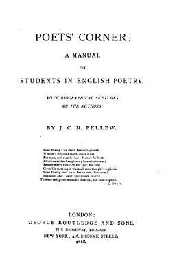Poets  Corner PDF