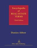 Encyclopedia of Real Estate Terms