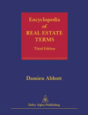 Encyclopedia of Real Estate Terms Book