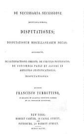Francisci Turrettini opera: Volume 4