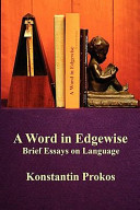 A Word in Edgewise