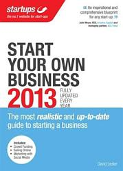 Start Your Own Business 2013 Book PDF