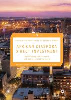 African Diaspora Direct Investment PDF