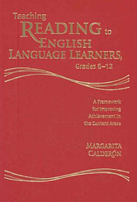 Teaching Reading to English Language Learners  Grades 6 12