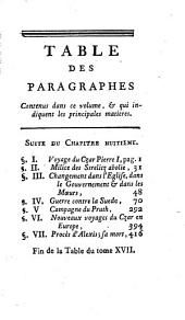 Histoire moderne des Chinois, des Japonnois, des Indiens, des Persans, des Turcs, des Russiens, &c. [by F.M. de Marsy, continued by A. Richer].