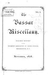 The Vassar Miscellany PDF