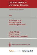 LOGLAN  88   Report on the Programming Language PDF