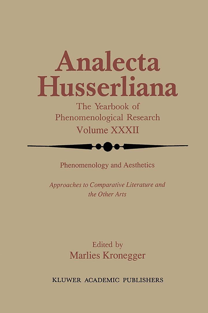 Phenomenology and Aesthetics