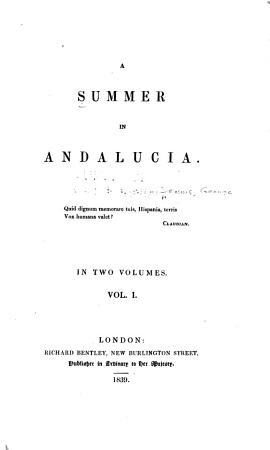 A Summer in Andalucia PDF