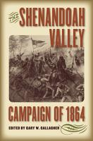 The Shenandoah Valley Campaign of 1864 PDF