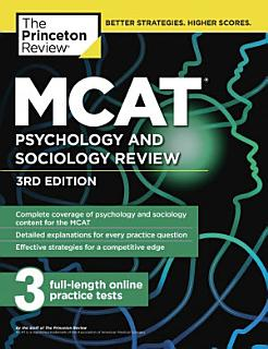 MCAT Psychology and Sociology Review Book