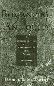 Romancing Antiquity Book