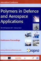 Polymers in Defence and Aerospace Applications PDF