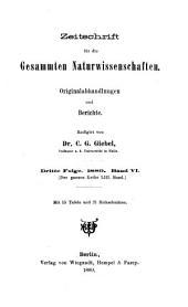 Zeitschrift für Naturwissenschaften: Band 53
