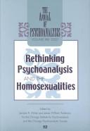 Rethinking Psychoanalysis and the Homosexualities PDF