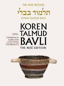 Koren Talmud Bavli Noé, Vol. 20