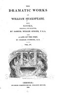 The Dramatic Works of William Shakespeare  Winter s tale  Comedy of errors  Macbeth  King John PDF