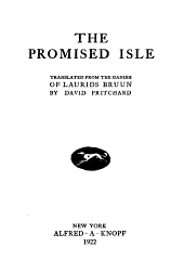 The promised isle