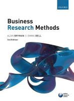 Business Research Methods 3e PDF